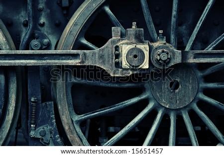 acidic wheel - stock photo