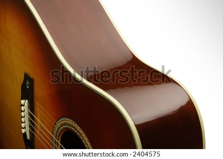 Acoustic Curves - stock photo