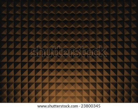 Acoustic Foam Wall 1 - stock photo