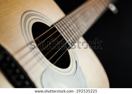 Acoustic Guitar, Guitar, Musical Instrument String.