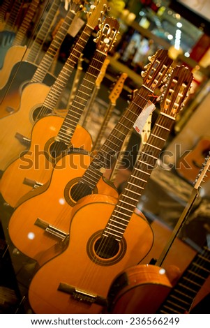 acoustic guitars store
