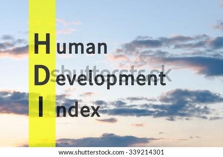 Human Development Index Logo Human Development Stoc...