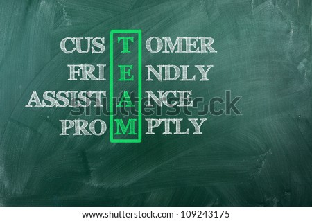 Acronym of Team -Customer ,Frendly ,Support, Promptly