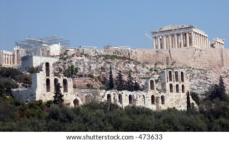 Acropolis Athens - stock photo