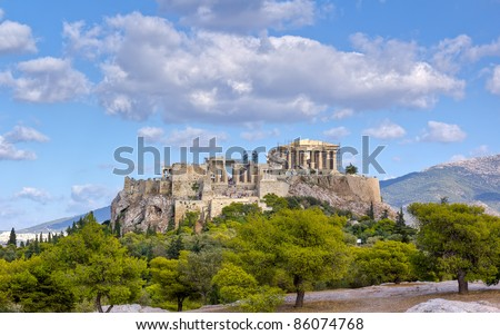 Acropolis, Athens, Greece - stock photo