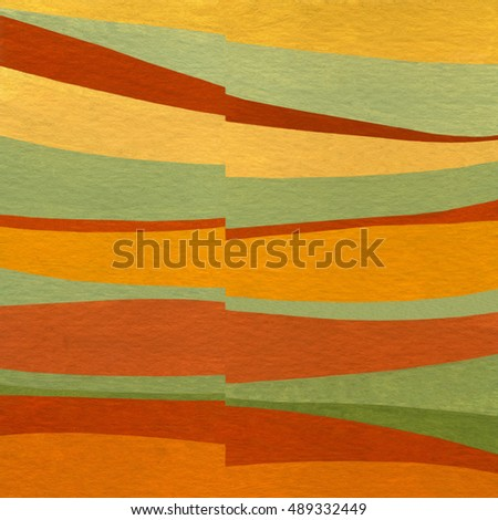 Acrylic background with color strips. Pattern for fabric / cover