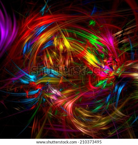 Acrylic colors . Abstract background. - stock photo