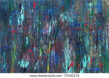 Acrylic painting - stock photo