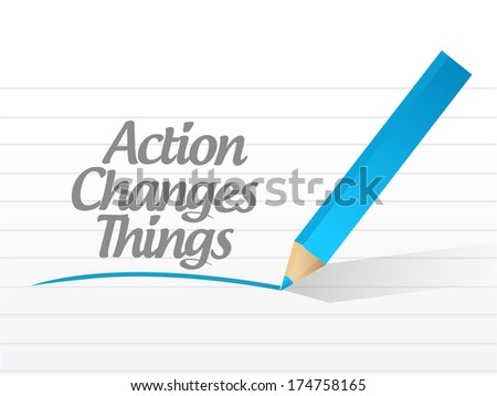 action changes things message currency chat communication illustration design over a white background - stock photo