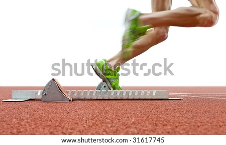 Starting Blocks Stock Images, Royalty-Free Images & Vectors ...
