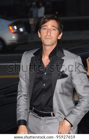 "Actor ADRIEN BRODY at the Los Angeles premiere of his new movie ""Hollywoodland"". September 7, 2006  Los Angeles, CA  2006 Paul Smith / Featureflash"