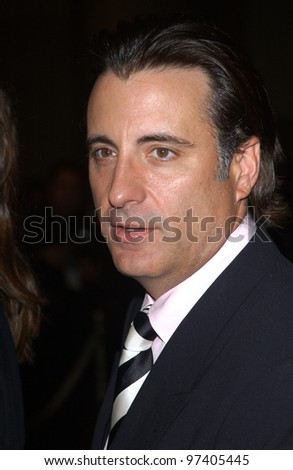 Actor ANDY GARCIA at the 2003 Hollywood Awards at the Beverly Hills Hilton. Oct 20, 2003  Paul Smith / Featureflash