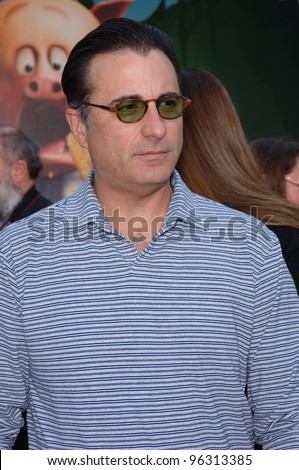 Actor ANDY GARCIA at the world premiere of his new movie Walt Disney's Chicken Little at the El Capitan Theatre, Hollywood. October 30, 2005 Los Angeles, CA  2005 Paul Smith / Featureflash - stock photo