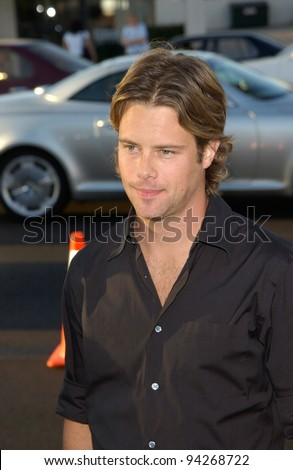 Actor BRAD ROWE at the Los Angeles premiere of his new movie Full Frontal. 23JUL2002  Paul Smith / Featureflash