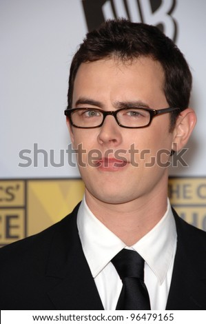 Actor COLIN HANKS at the 11th Annual Critics' Choice Awards in Santa Monica, presented by the Broadcast Film Critics Association. January 9, 2006  Santa Monica, CA  2006 Paul Smith / Featureflash - stock photo
