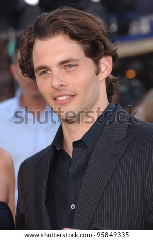"Actor JAMES MARSDEN at the world premiere of his new movie ""Superman Returns"" in Los Angeles. June 21, 2006  Los Angeles, CA  2006 Paul Smith / Featureflash"