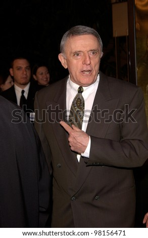 Actor JOHN ASTIN at the Los Angeles premiere of The Lord of the Rings: The Fellowship of the Ring. 16DEC2001  Paul Smith/Featureflash