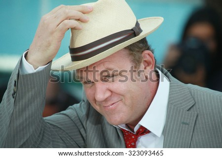 Actor John C. Reilly attends the 'We Need To Talk About Kevin' photocall during the 64th Annual Cannes Film Festival at the Palais des Festivals on May 12, 2011 in Cannes, France. - stock photo