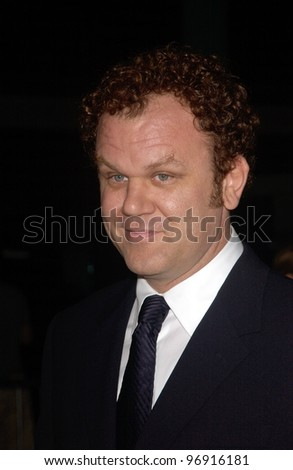 Actor JOHN C. REILLY & wife at the Los Angeles premiere of his new movie Criminal. August 30, 2004