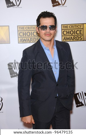 Actor JOHN LEGUIZAMO at the 11th Annual Critics' Choice Awards in Santa Monica, presented by the Broadcast Film Critics Association. January 9, 2006  Santa Monica, CA  2006 Paul Smith / Featureflash - stock photo