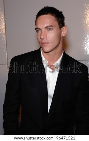 Actor JONATHAN RHYS-MEYERS at the Los Angeles premiere of his new movie Match Point. December 8, 2005  Los Angeles, CA.  2005 Paul Smith / Featureflash
