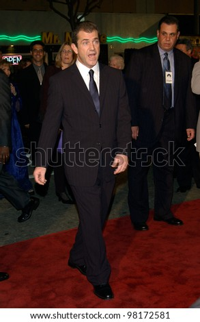 Actor MEL GIBSON at the world premiere, in Los Angeles,  of his new movie We Were Soldiers. 25FEB2002.  Paul Smith/Featureflash