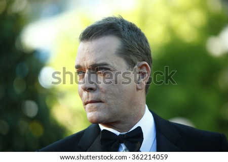 Actor Ray Liotta attends the 'Killing Them Softly' Premiere during the 65th Annual Cannes Film Festival at Palais des Festivals on May 22, 2012 in Cannes, France. - stock photo