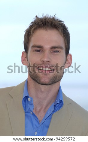 Actor SEANN WILLIAM SCOTT at the Cannes Film Festival to promote his new movie Bulletproof Monk. 19MAY2002.   Paul Smith / Featureflash - stock photo