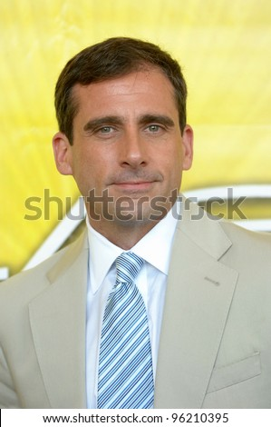 Actor STEVE CARELL (star of NBC's The Office) at cocktail party in Beverly Hills for the new season of the NBC TV series Las Vegas. July 24, 2005  Los Angeles, CA  2005 Paul Smith / Featureflash - stock photo