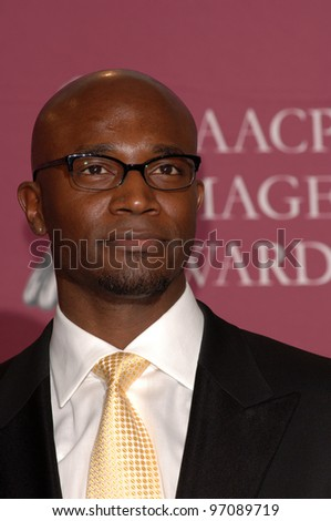 Actor TAYE DIGGS at the 36th Annual NAACP Image Awards in Los Angeles. March 19, 2005: Los Angeles, CA.  Paul Smith / Featureflash