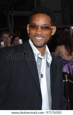 Actor WILL SMITH at the special fan screening of War of the Worlds at the Grauman's Chinese Theatre, Hollywood. June 27, 2005 Los Angeles, CA  2005 Paul Smith / Featureflash - stock photo