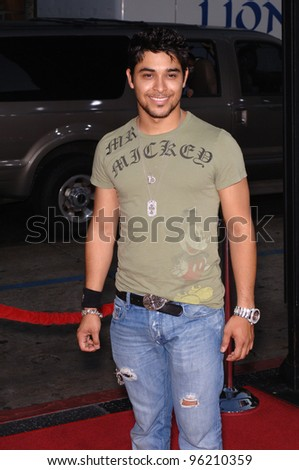 Actor WILMER VALDERRAMA at the Los Angeles premiere of The Dukes of Hazzard. July 28, 2005 Los Angeles, CA  2005 Paul Smith / Featureflash