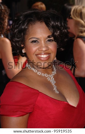 Actress CHANDRA WILSON at the 2006 Primetime Emmy Awards at the Shrine Auditorium, Los Angeles. 8 27, 2006 Los Angeles, CA  2006 Paul Smith / Featureflash