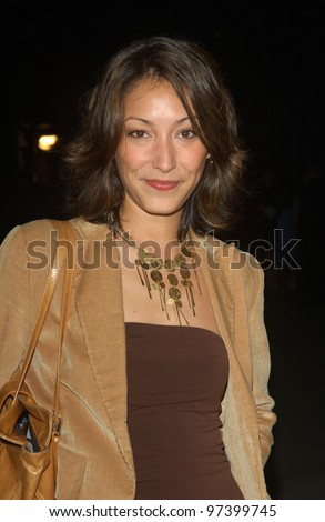 Actress CHRISTINA CHANG at the world premiere, in Hollywood, of Runaway Jury. Oct 9,2003  Paul Smith / Featureflash