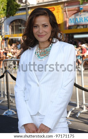Actress CONSTANCE MARIE at the Los Angeles premiere of Batman Begins. June 6, 2005 Los Angeles, CA.  2005 Paul Smith / Featureflash