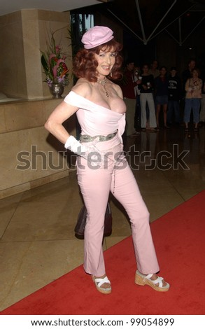 Actress EDY WILLIAMS at the 18th Annual Genesis Awards at the Beverly Hilton Hotel, Beverly Hills, CA. March 20, 2004 - stock photo