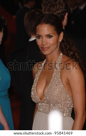 "Actress HALLE BERRY at the gala premiere of ""X-Men 3: The Last Stand"" at the 59th Annual International Film Festival de Cannes. May 17, 2006  Cannes, France.  2006 Paul Smith / Featureflash"