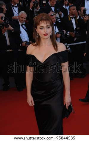 "Actress HELENA BONHAM CARTER at gala screening for ""Volver"" at the 59th Annual International Film Festival de Cannes. May 17, 2006  Cannes, France.  2006 Paul Smith / Featureflash"