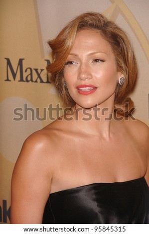 Actress JENNIFER LOPEZ at the 2006 Women in Film Crystal+Lucy Awards in Century City. June 6, 2006  Los Angeles, CA.  2006 Paul Smith / Featureflash - stock photo