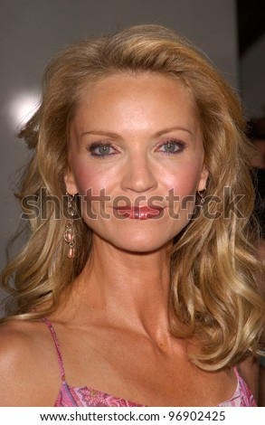 Actress JOAN ALLEN at the world premiere, in Hollywood, of her new movie The Bourne Supremacy. July 15, 2004