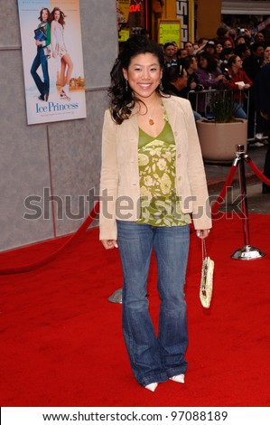 Actress JOCELYN LAI at the Hollywood premiere of her new ...