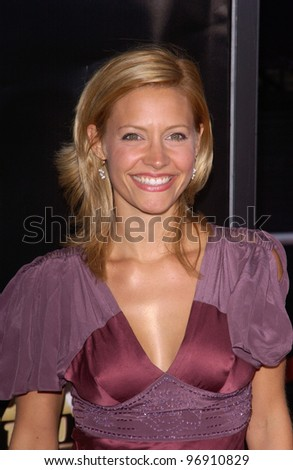 Actress KADEE STRICKLAND at the world premiere, in Los Angeles, of Collateral. August 2, 2004