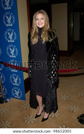 Actress KATE HUDSON at the 53rd Annual Directors Guild of America Awards in Los Angeles.  Paul Smith/Featureflash