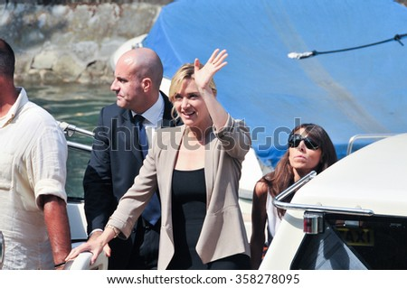 Actress Kate Winslet at the Palace of the Cinema during the 68th Venice Film Festival on September, 2011 in Venice, Italy. - stock photo