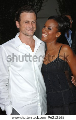 Actress KERRY WASHINGTON & actor DAVID MOSCOW at the Los Angeles premiere of movie Hustle & Flow at the Cinerama Dome, Hollywood. July 20, 2005  Los Angeles, CA  2005 Paul Smith / Featureflash - stock photo