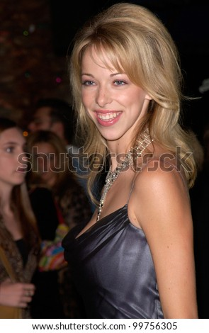 Actress LACEY KOHL at the world premiere, at Universal City, of Dr. Seuss' How The Grinch Stole Christmas. 08NOV2000.   Paul Smith / Featureflash