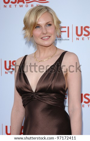 Actress LAURA ALLEN at the AFI Life Achievement Award gala honoring George Lucas. June 9, 2005  Los Angeles, CA.  2005 Paul Smith / Featureflash - stock photo