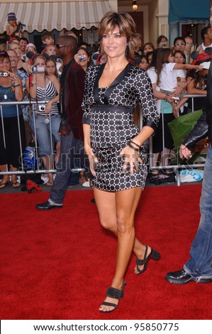 "Actress LISA RINNA at the world premiere of ""Pirates of the Caribbean: Dead Man's Chest"" at Disneyland, CA. June 24, 2006  Anaheim, CA  2006 Paul Smith / Featureflash"