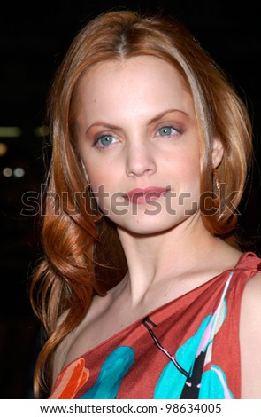 Actress MENA SUVARI at the Los Angeles premiere of her new movie Sugar and Spice. 24JAN2001   Paul Smith/Featureflash