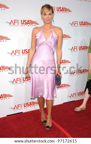 Actress MOLLY SIMS at the AFI Life Achievement Award gala honoring George Lucas. June 9, 2005  Los Angeles, CA.  2005 Paul Smith / Featureflash - stock photo